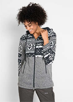 Jachetă fleece cu aspect tricotat bpc bonprix collection 6