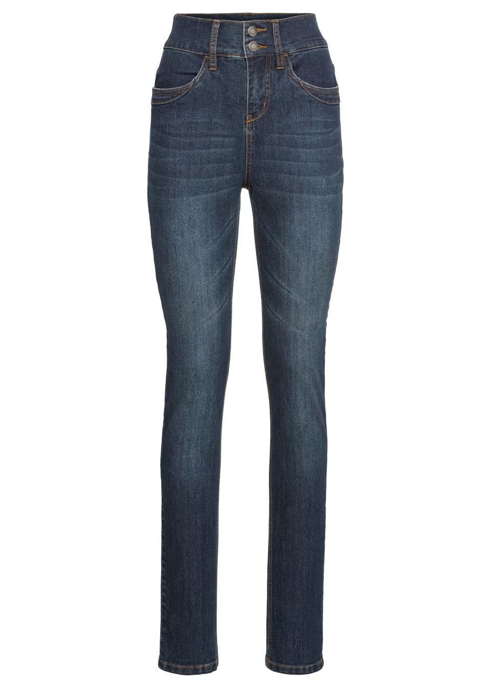 Комфортные джинсы-стретч HIGH WAIST SLIM от bonprix