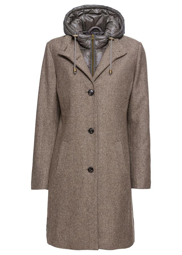 płaszcze damskie beżowe stylowo i modnie z Allani