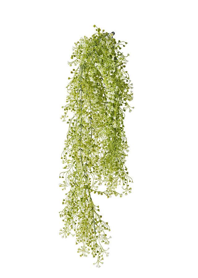 Umelá rastlinka s malými kvietkami