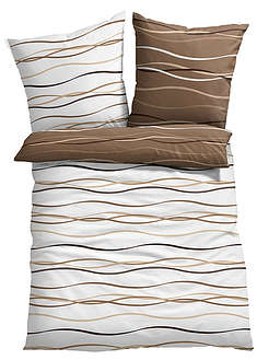 Lenjerie de pat cu valuri bpc living bonprix collection 8
