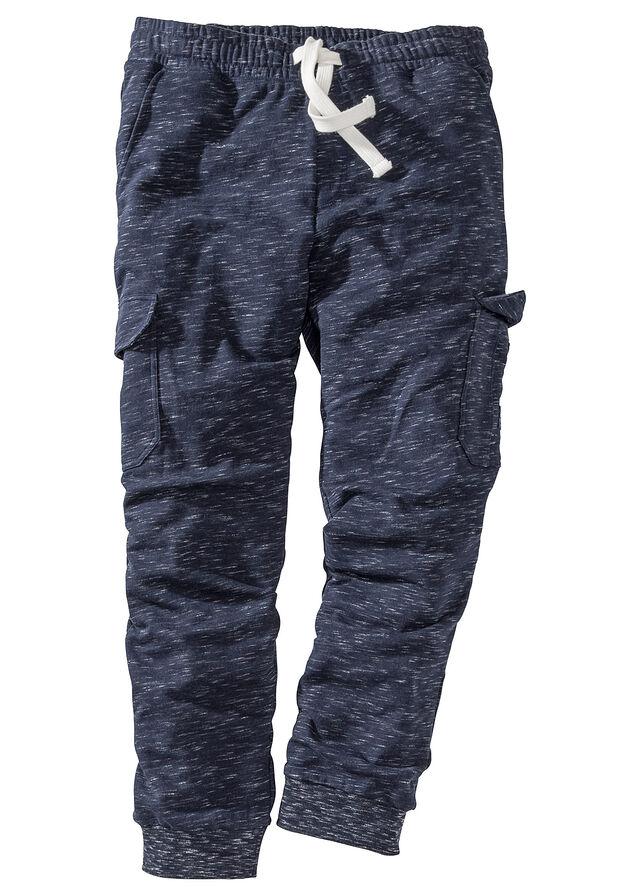 Joggingové nohavice s kapsáčovými vreckami