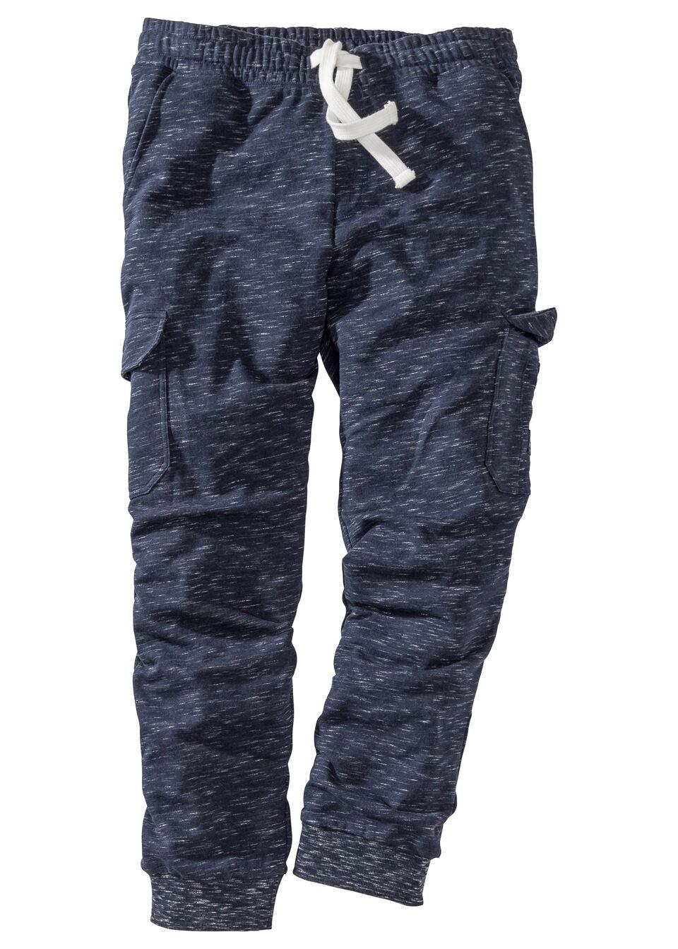 Pantaloni jogging cu buzunare cargo bonprix
