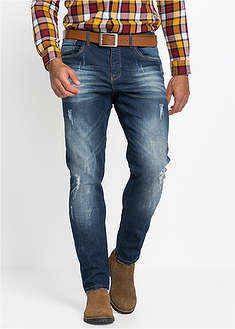 Dżinsy ze stretchem Slim Fit Straight John Baner JEANSWEAR 0