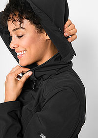 Canadiană softshell negru bpc bonprix collection 5