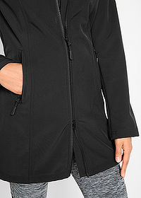 Canadiană softshell negru bpc bonprix collection 7