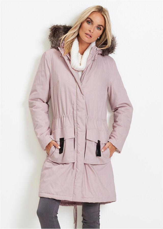 Parka bunda matná ružová Voľný • 49.99 € • bonprix 4c1843b6ddd