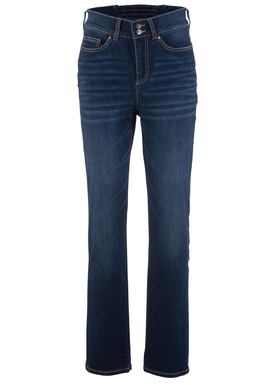 """Jeans stretch efect """"push-up"""", croi drept bonprix"""