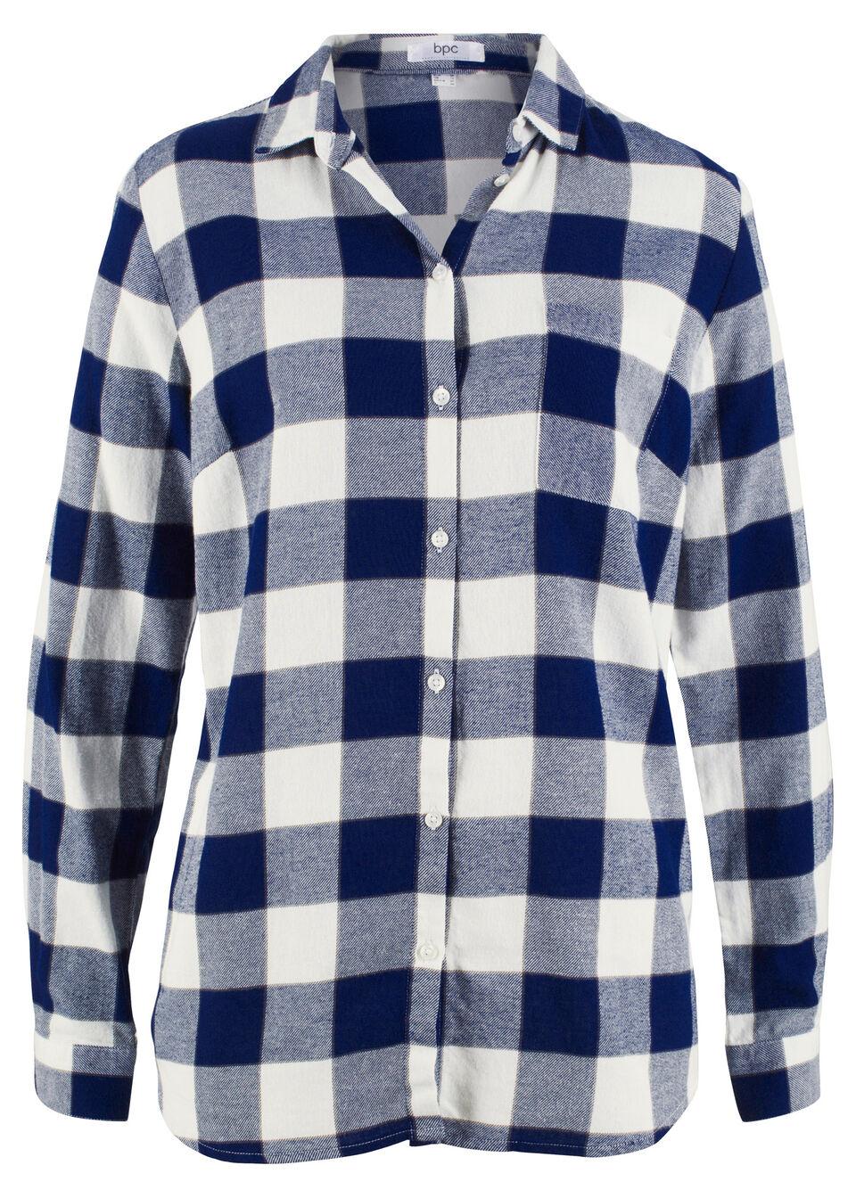 Фланелевая блузка от bonprix