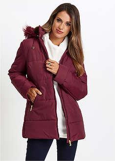 Prešívaná bunda s umelou kožušinkou bpc selection 29 b26f95f4677