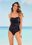 Costum baie shape, nivel 1 negru bpc selection 5