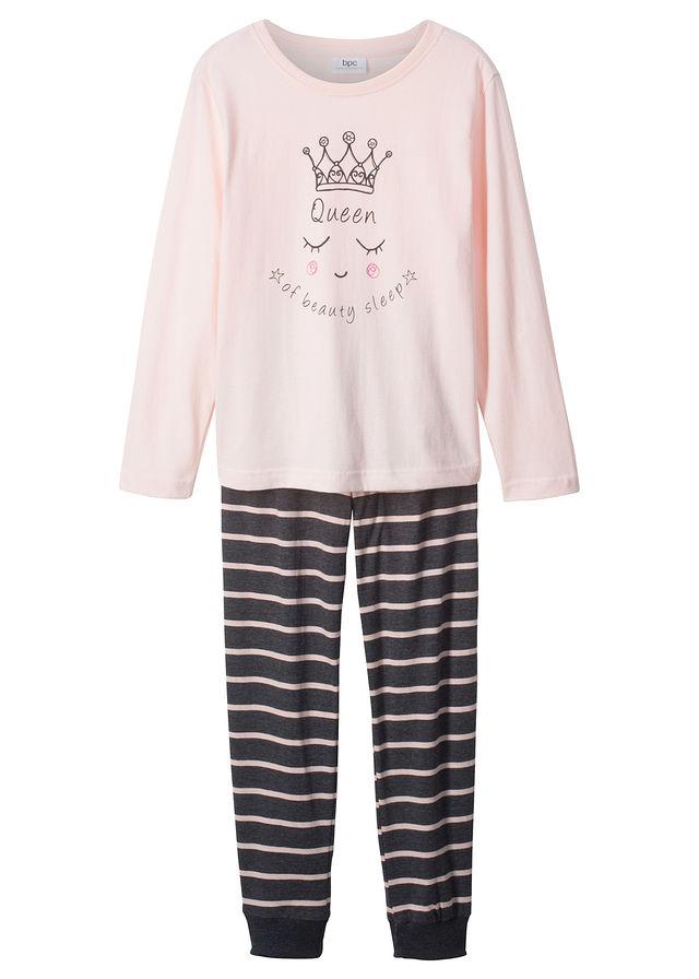 Pizsama (2-részes szett) gyöngyház rózsaszín-antracitszürke melírozott •  4999.0 Ft • bonprix 37189553ec