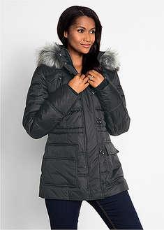 Téli kabát fekete Kétirányú cipzárral az • 16999.0 Ft • bonprix 5baba2564d
