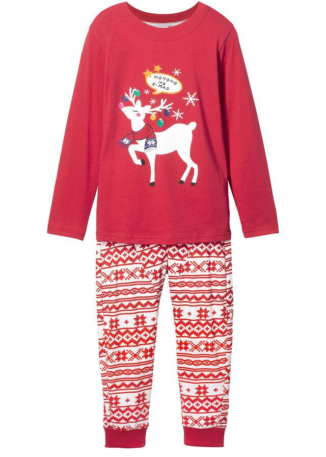 e3a99f6a478e Pyžamo (2-dielna sada) • biela vlna-tmavočervená potlačená • bonprix obchod