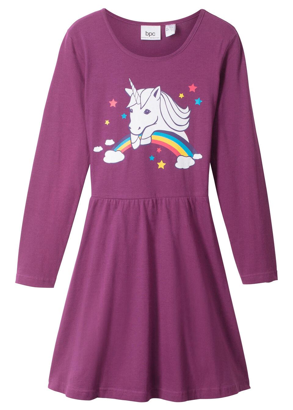 Платье с длинным рукавом от bonprix