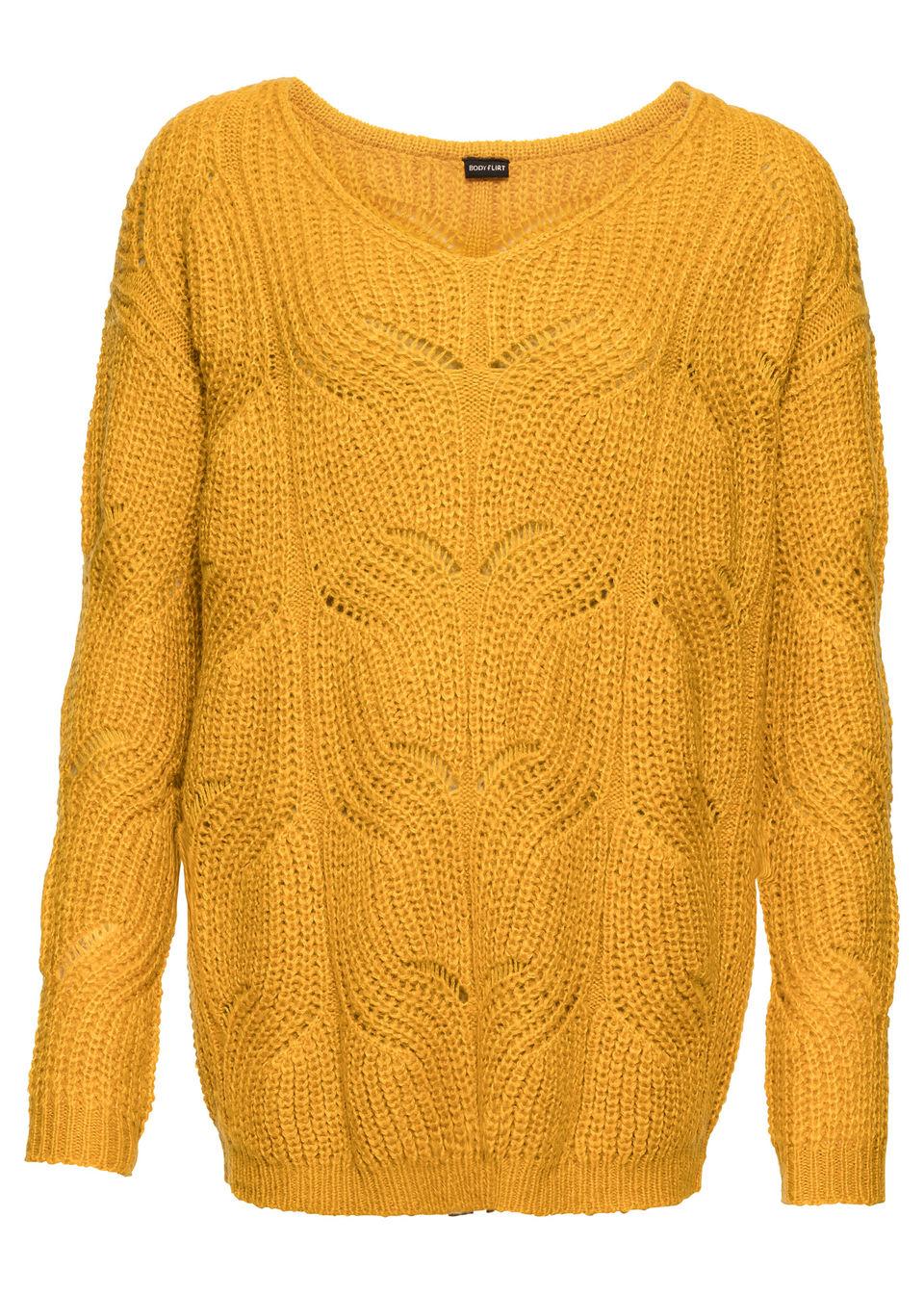 bonprix / Пуловер с V-образным вырезом горловины