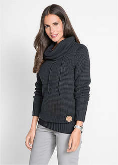 Sweter z golfem bpc bonprix collection 15