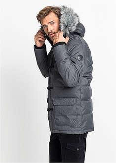 Férfi dzsekik és kabátok  jsessionid 500D2B5BB30D280FC96836F6B38090C1parka  ... Funkciós steppelt téli parka kabát Regular Fit-szürke ... 2f9b0fd131