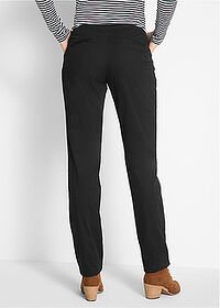 Pantaloni chino termo negru bpc bonprix collection 2