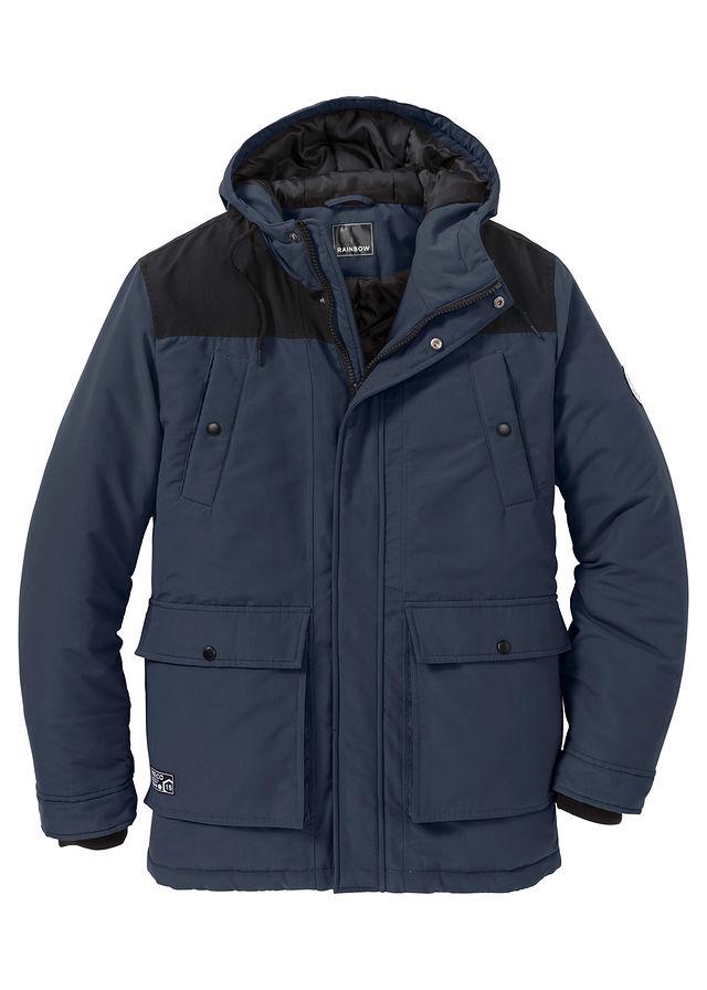 Téli parka kabát Regular Fit sötétkék • 19999.0 Ft • bonprix da917a8d5b
