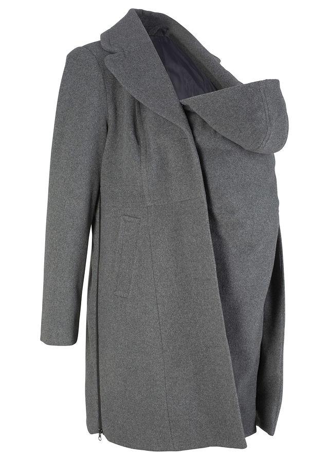 Materský kabát s rozšírením pre dieťa