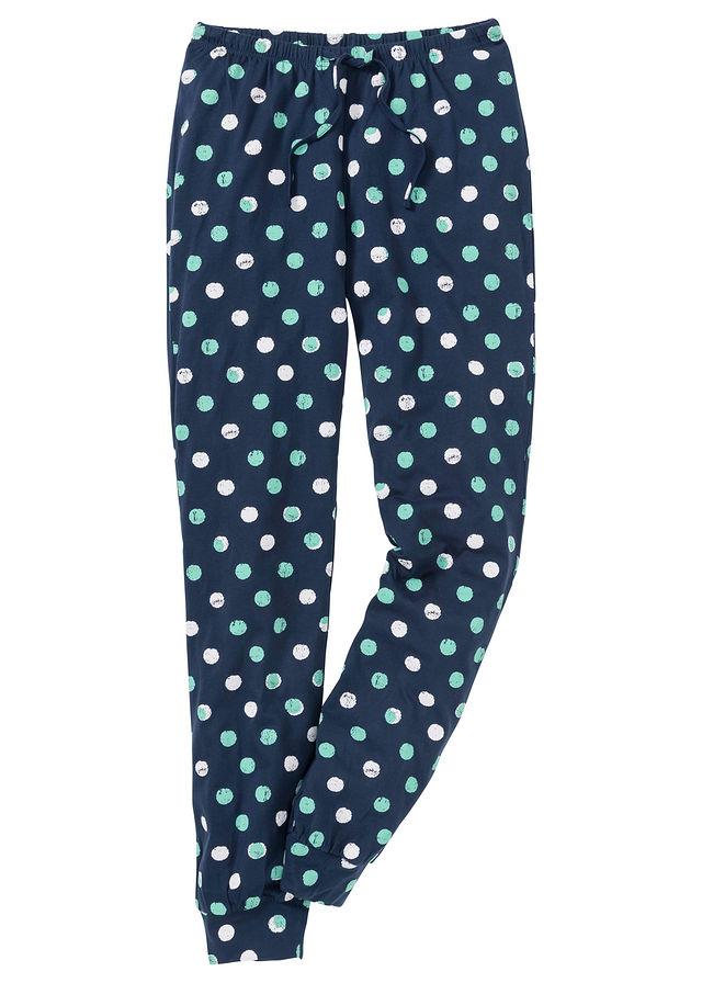 8b8ae5268de4 Pyžamové nohavice tmavomodrá bodkovaná S • 7.99 € • bonprix