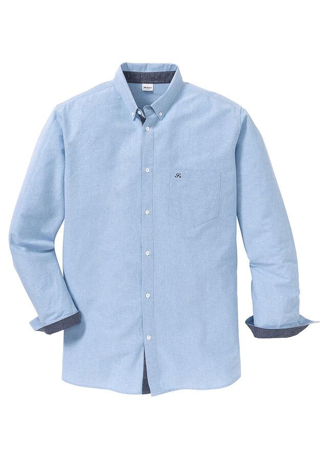 Košeľa s dlhým rukávom, s výšivkou