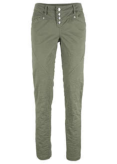 Pantaloni creponaţi cu stretch bpc bonprix collection 7