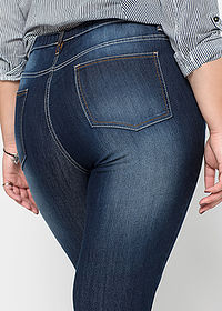 Farmer jegging raw denim RAINBOW 5