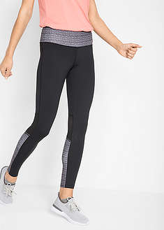 Legginsy sportowe shaping, długie, LEVEL 3 bpc bonprix collection 38