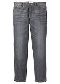 Dżinsy Regular Fit Straight szary John Baner JEANSWEAR 0