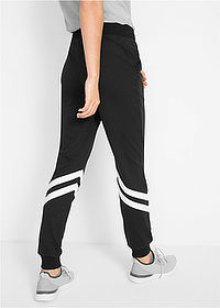 Pantaloni sport nivel 1 negru/alb bpc bonprix collection 2