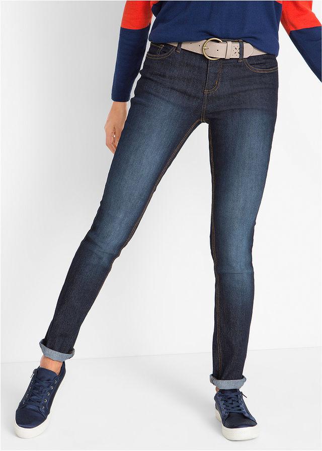 Удобные джинсы-стретч SKINNY темно-синий • 349.0 грн • bonprix 3f4004075d3b3