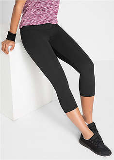 Legginsy sportowe shaping, dł. 3/4, Level 2 bpc bonprix collection 38