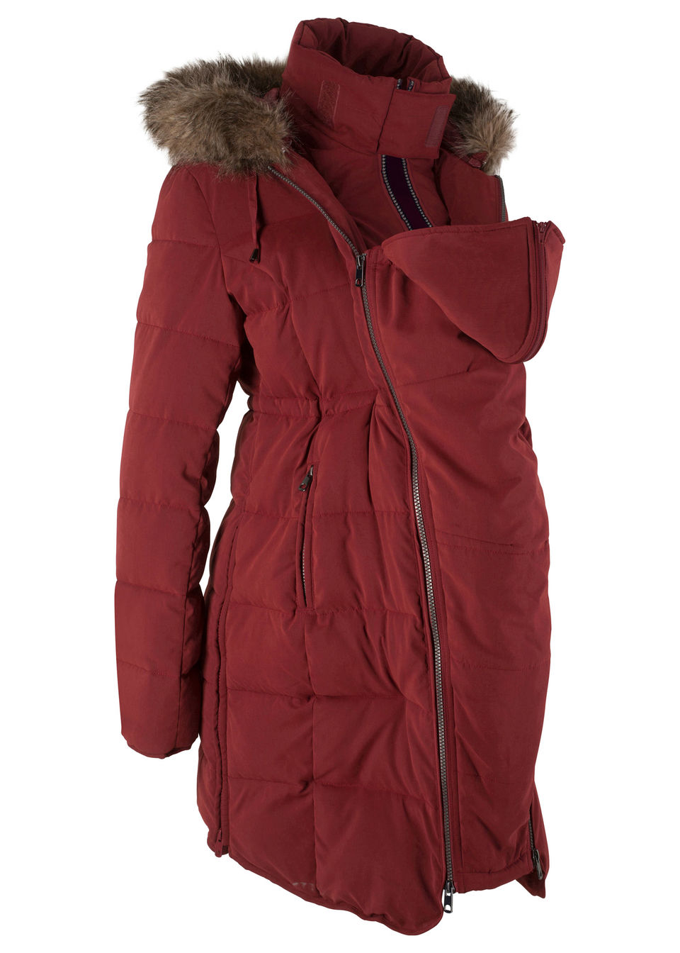 Купить Куртки и плащи, Куртка с карманом-вкладкой для малыша, bonprix, красный каштан