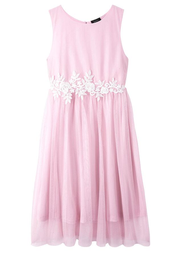 ff10f327e992 Slávnostné šaty pre dievčatá ružová biela • 21.99 € • bonprix