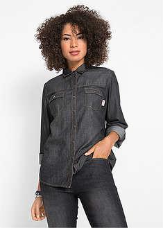 17b4bb179b2 Женские джинсовые рубашки • от 319 грн 6 шт • bonprix магазин