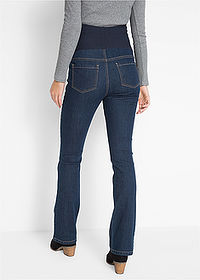Blugi gravide cu super-stretch, bootcut dark denim bpc bonprix collection 2