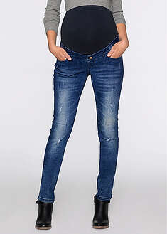 Jeans gravide cu efecte destroyed, skinny bpc bonprix collection 8