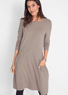 Úpletové šaty s vreckami-bpc bonprix collection