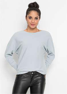 "Sweter w prążek ""oversize""-BODYFLIRT"