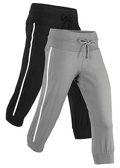 Pantaloni sport 3/4, 2 buc/pac bpc bonprix collection 52