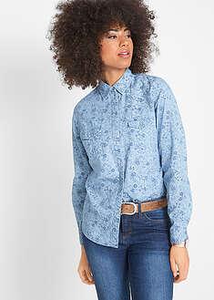 a95dbc120808 Женские джинсовые рубашки • от 399 грн 9 шт • bonprix магазин