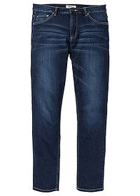 "Dżinsy ""multi-stretch"" Regular Fit Tapered ciemny denim John Baner JEANSWEAR 0"