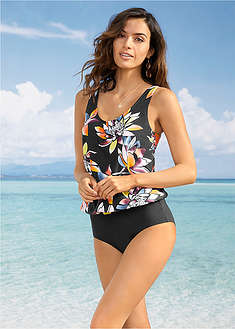 Top plażowy tankini bpc selection 31