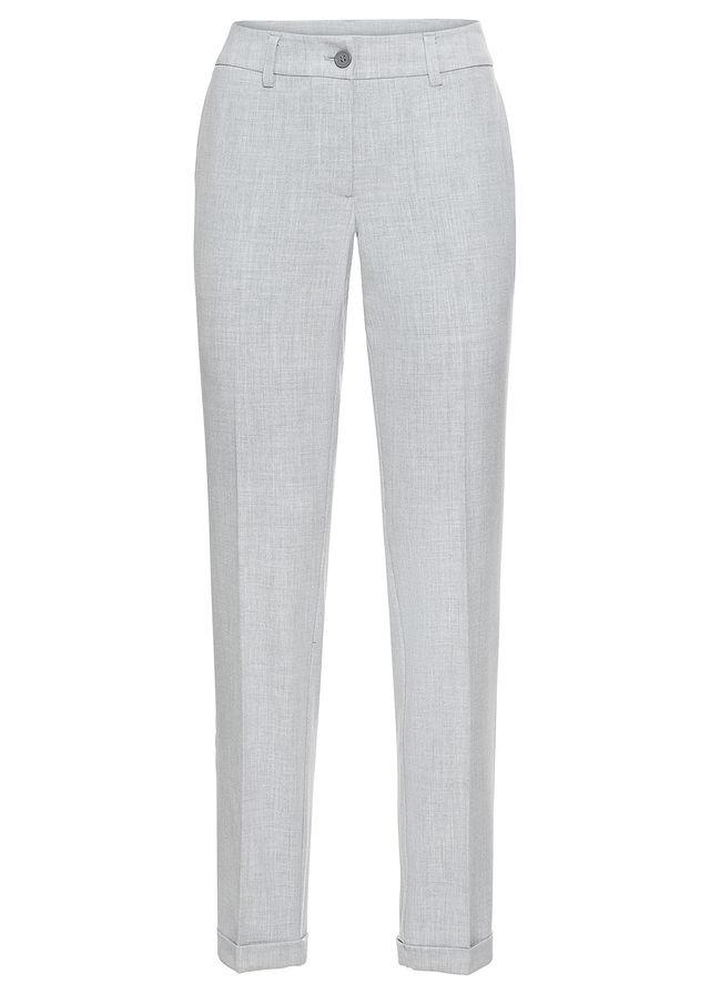 47862ff19a73 Biznis nohavice sivá melírovaná • 24.99 € • bonprix