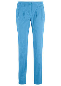 Spodnie chino ze stretchem niebieski bpc bonprix collection 0