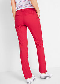 Pantaloni chino stretch roșu bpc bonprix collection 2