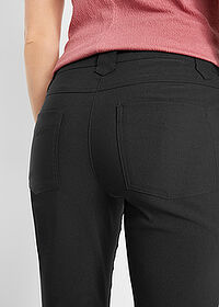 Pantaloni 7/8 bengalină negru bpc bonprix collection 4