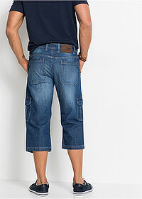 Regular Fit 3/4-es farmernadrág Straight kék John Baner JEANSWEAR 2